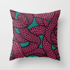 Coils Throw Pillow