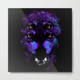 Wild Fury Metal Print