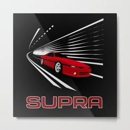 Supra Mk3 Metal Print