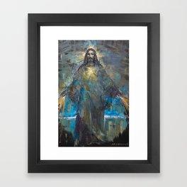 I AM THE LIGHT OF THE WORLD II Framed Art Print