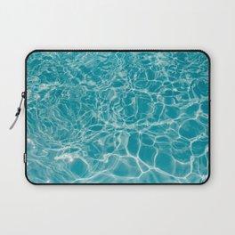 Blue Summer Water Laptop Sleeve