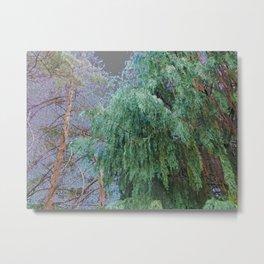 Let the Trees Speak Metal Print