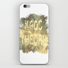 Kaos theory on sandy fractal iPhone & iPod Skin