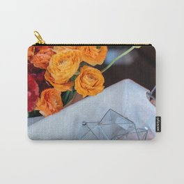 flower photography by Fabio Issao Carry-All Pouch