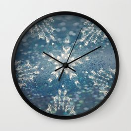 Winter Fairydust Wall Clock