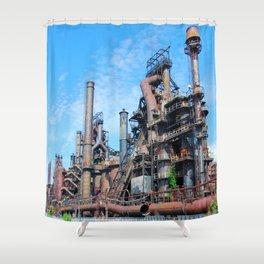 Bethlehem Steel Blast Furnaces 8 Shower Curtain