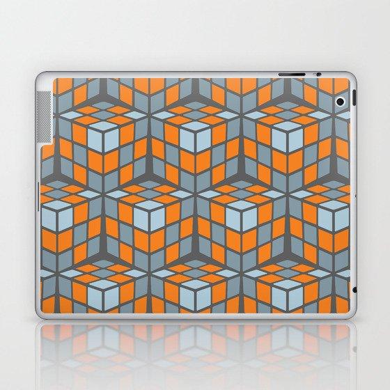 cascade - orange Laptop & iPad Skin