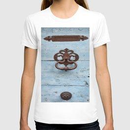 Letters, Knocker, Handle T-shirt