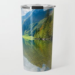 Seealpsee Lake Appenzell Alps Switzerland Travel Mug