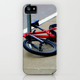 Couldn't Take This Lying Down iPhone Case