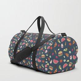 Yummy! (blue) Duffle Bag