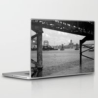 liverpool Laptop & iPad Skins featuring Liverpool - An Alternative View by Caroline Benzies Photography