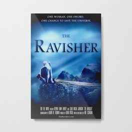 The Ravisher movie poster by Lacy Lambert Metal Print