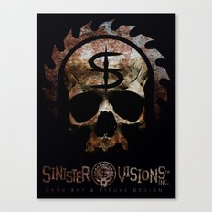 Sinister Visions Promo 2015 Canvas Print
