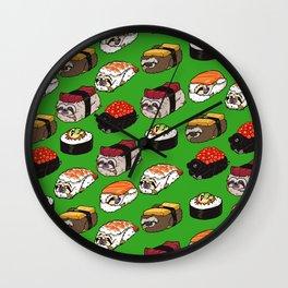 Sushi Sloth Wall Clock