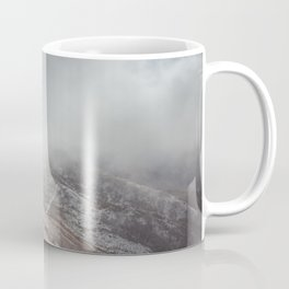 Winter trail - Landscape and Nature Photography Coffee Mug