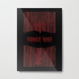 Stranger Things Metal Print