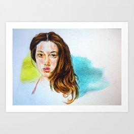 Signe Art Print