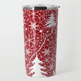 Winter. Christmas. Travel Mug