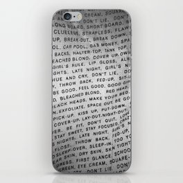 Pocket Wisdom iPhone Skin
