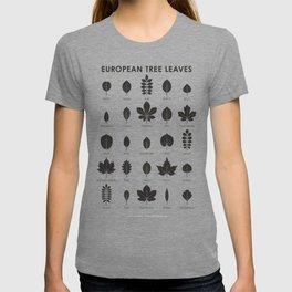 European Tree Leaves T-shirt