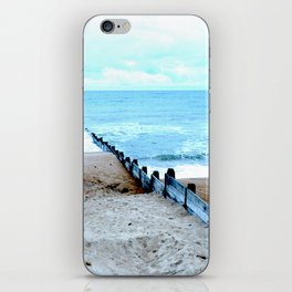 Outlook over the North Sea iPhone Skin