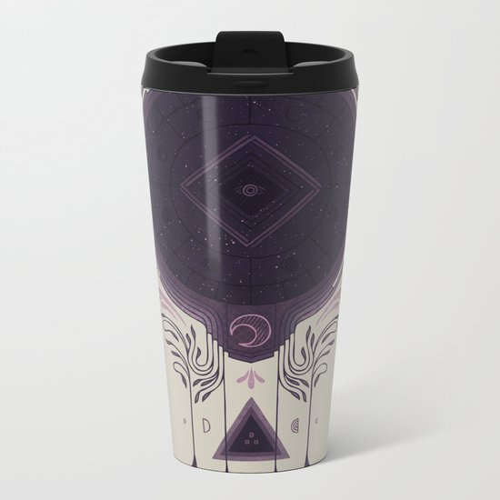 Cosmic Dreaming Metal Travel Mug
