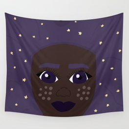 she is the stars Wall Tapestry