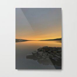 Golden Morning on Seneca Lake Metal Print