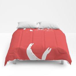 I Dreamt Of Broken Teeth Comforters