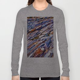 Rocky abstract Long Sleeve T-shirt