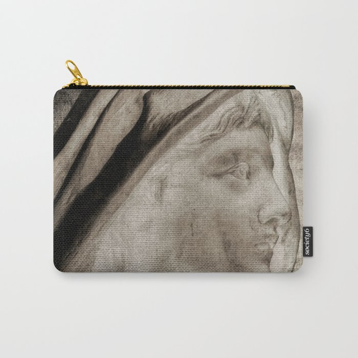 Lady Angel Celestial Woman Spiritual Art A145 Carry-All Pouch