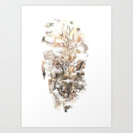 Wolf Mist Art Print