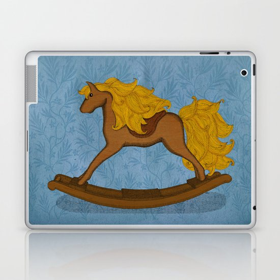 Peta approved racehorse Laptop & iPad Skin
