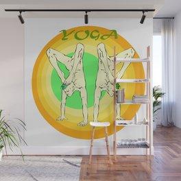 Yoga: asana Wall Mural