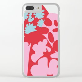 Fashion Designer Icons: Rei Kawakubo in colors Clear iPhone Case