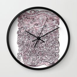 Breathe by Riendo Wall Clock
