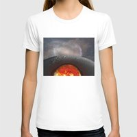 the moon T-shirts featuring Moon by Baris erdem