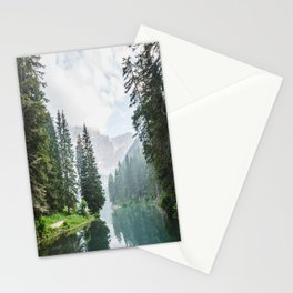 moody landscape Stationery Cards