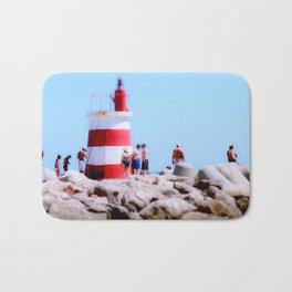 Lighthouse Portugal Bath Mat