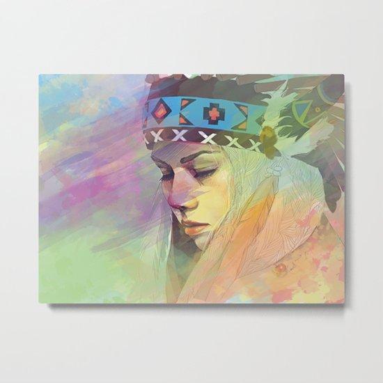 Colorful Daydream Metal Print