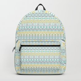 Aztec Influence Ptn Colorful Backpack