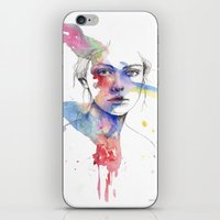inspiration iPhone & iPod Skins featuring Inspiration by Tsukiko-Kiyomidzu