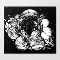 LSD in Space Canvas Print