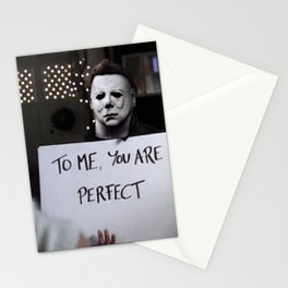 Michael Myers in Love Actually Stationery Cards