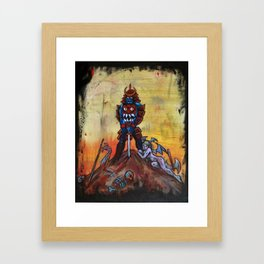 The Bishamon Framed Art Print