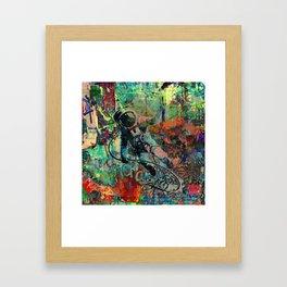 Lost in Urbanity Framed Art Print