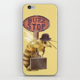 Worker Bee (colour option) iPhone Skin