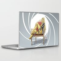 bond Laptop & iPad Skins featuring Bond Girl by Fernando Cano Zapata