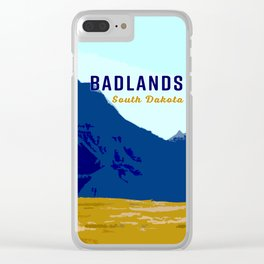 South Dakota Travel Clear iPhone Case